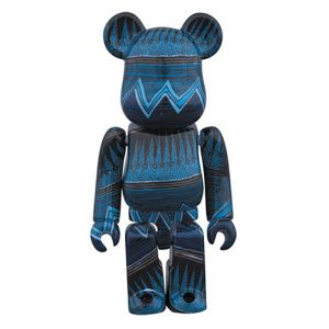 Bearbrick STUSSY 35TH ANNIVERSARY 100% (LIMITED EDITION) By Medicom Toy