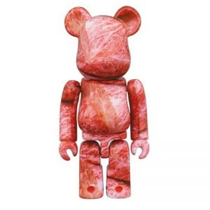 Bearbrick Rare Limited Aging Beef 100% By Medicom Toy